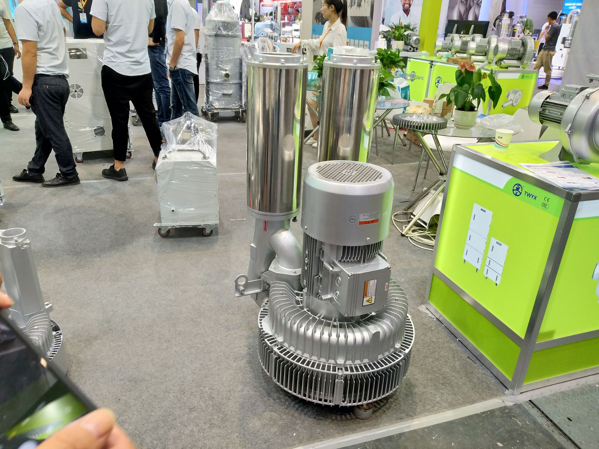 低噪音高壓風機 污水曝氣專用雙葉輪高壓風機 大風量高壓鼓風機示例圖15