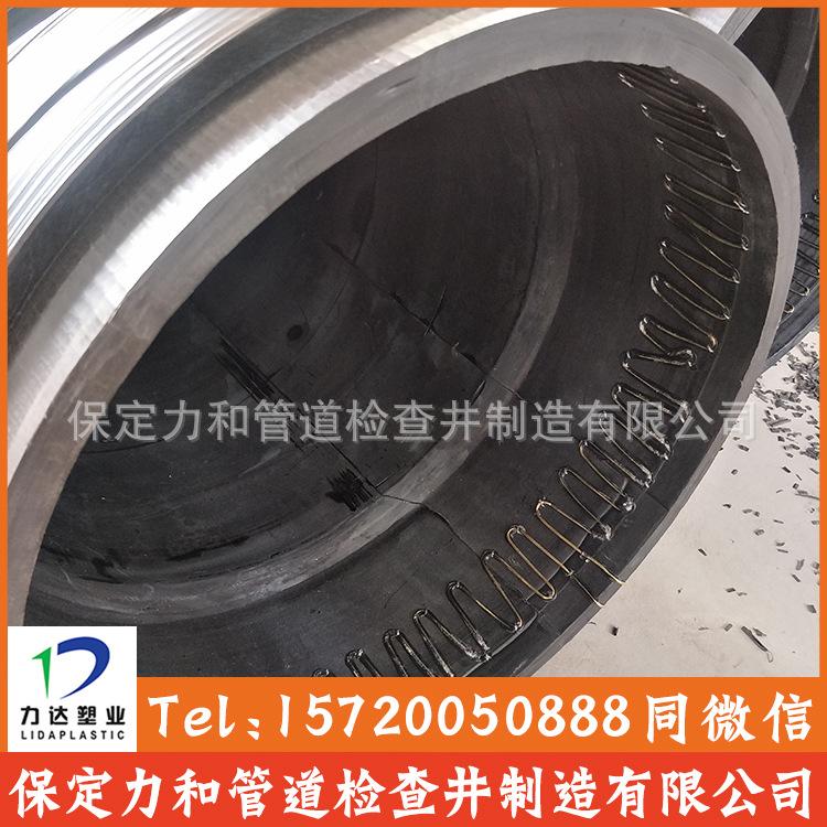 聚乙烯缠绕结构壁B型管 克拉管 100%全新料 零渗漏 耐腐蚀耐酸碱示例图11
