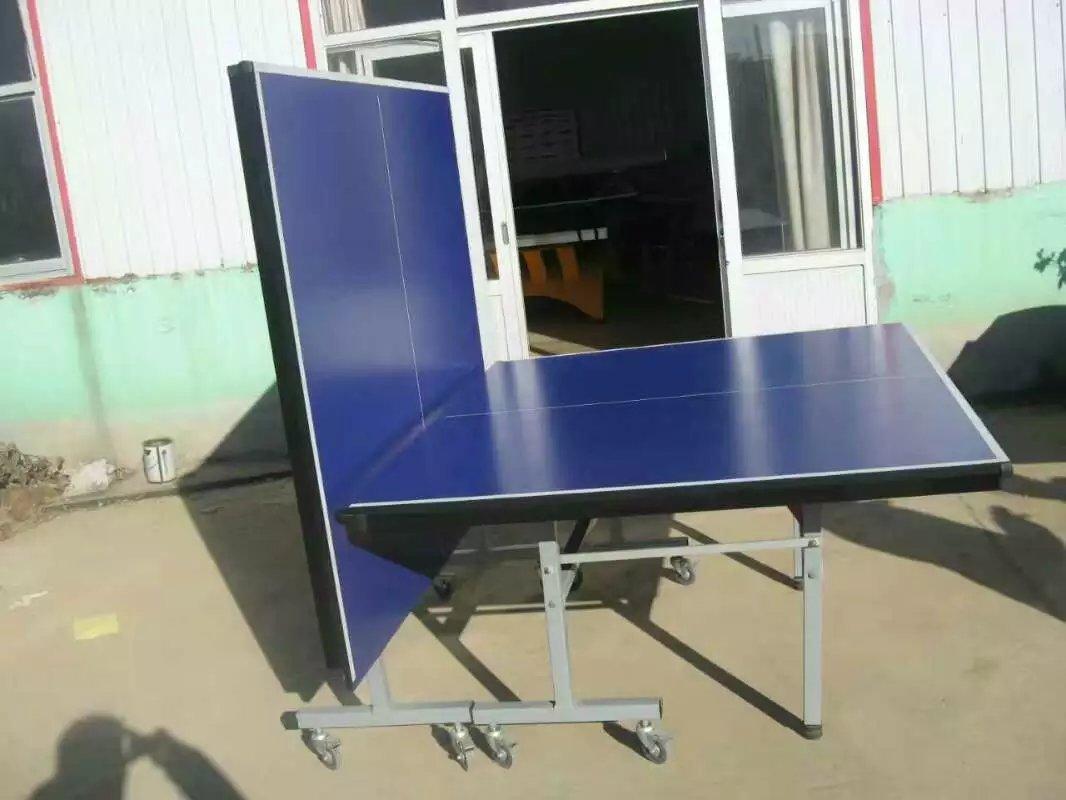 特价供应室内可移动乒乓球桌 家用标准乒乓球台 物美价廉售后无忧示例图16