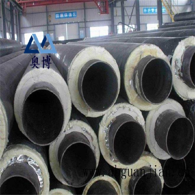厂家直销 保温钢管 预制保温钢管 定做聚氨酯直埋式保温钢管示例图12