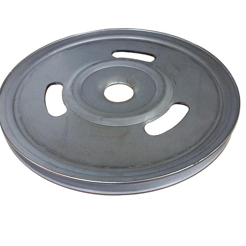 厂家直销新款熟铁旋压单槽劈开式皮带轮可定做示例图3