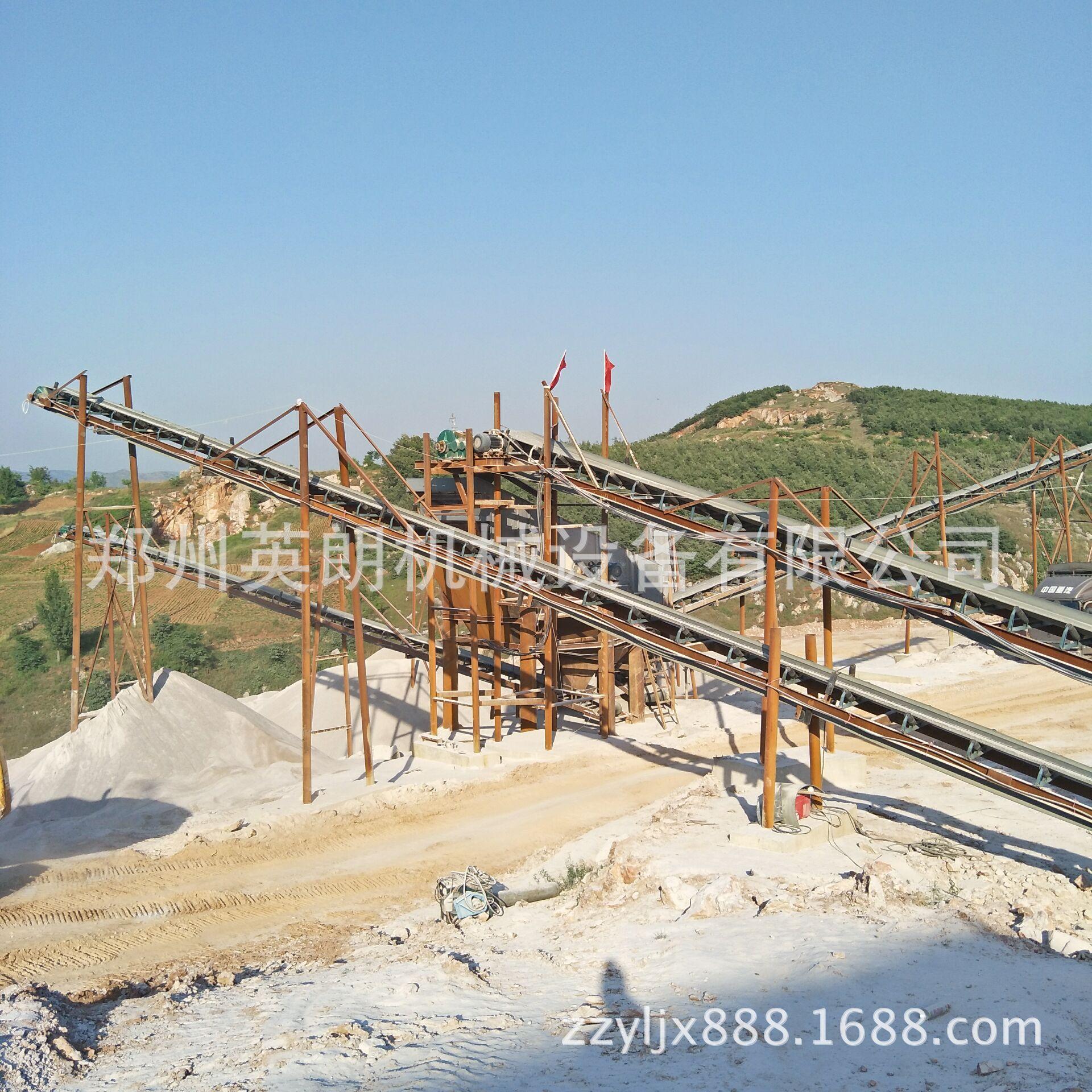 石料生产线全套设备配置 砂石石料生产线 大型石头破碎生产线示例图3