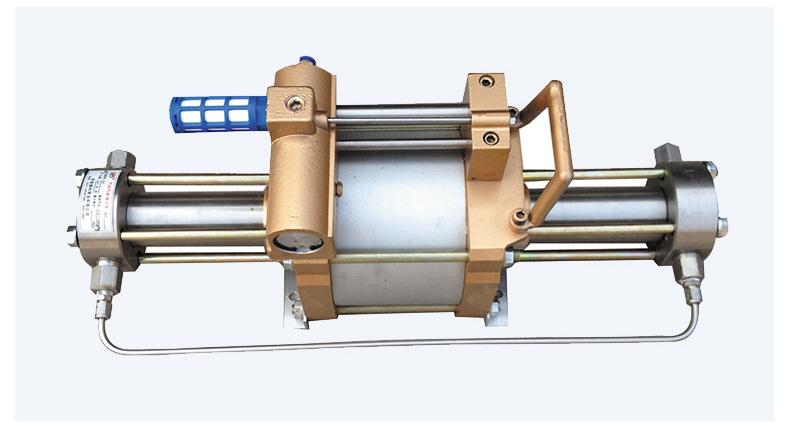 现货供应气体增压泵增压快 工业小型压缩空气气动增压泵 质优价廉示例图14