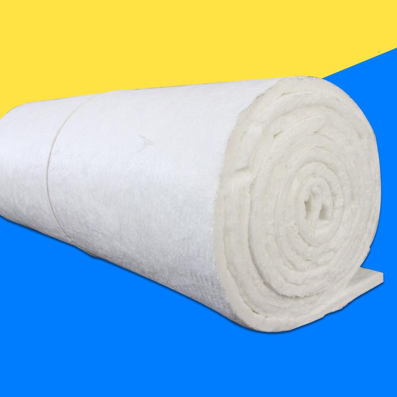 生產硅酸鋁纖維針刺毯 保溫棉 防火耐高溫隔熱棉 保溫管道隔熱材料