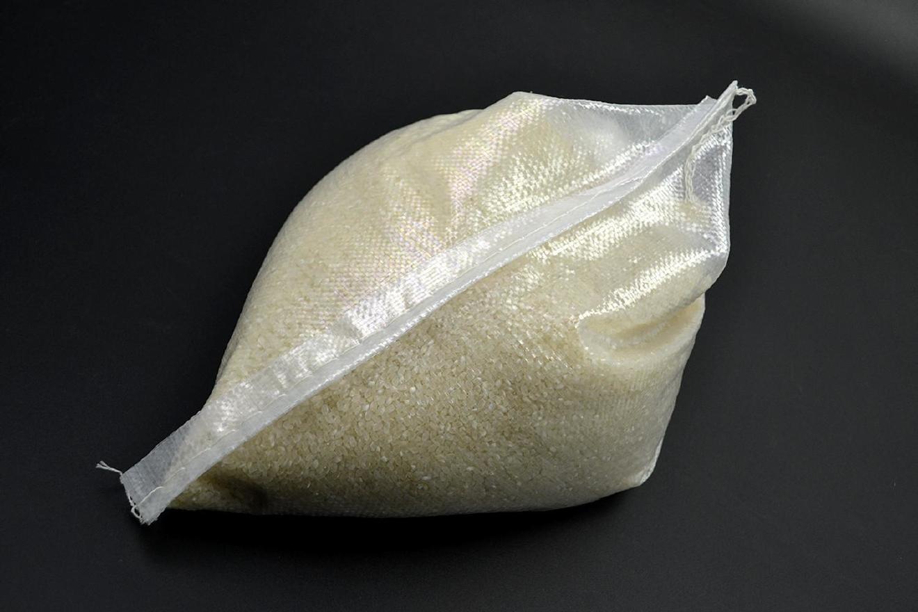 小號透明20斤米袋/10公斤全透新料大米糧食袋底價/35*60編織袋示例圖7