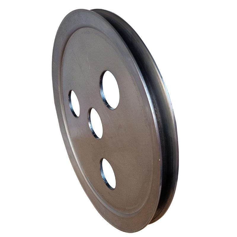 新款v型单槽食品机械皮带轮 平衡度好尺寸精准不易损坏示例图1