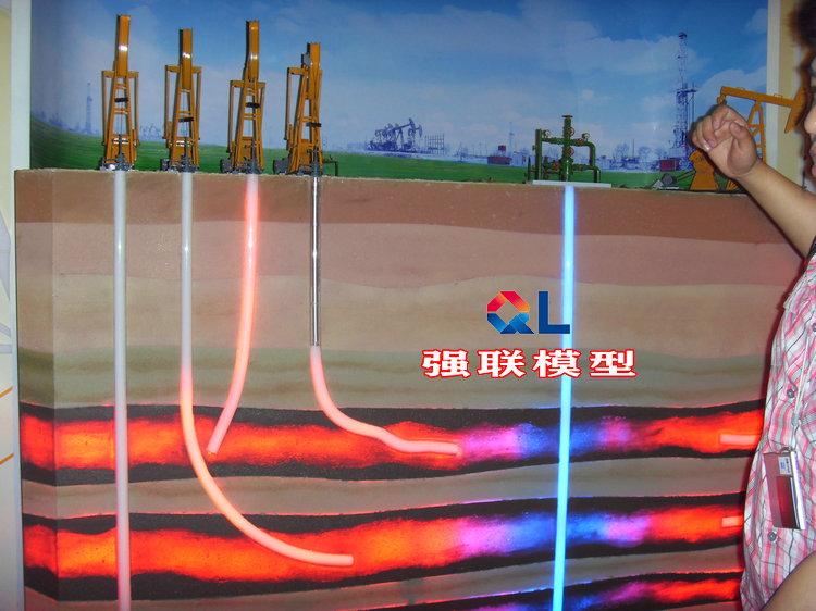 強聯模型油藏地質構造 油藏地質模型廠家直銷油藏模型油層模型