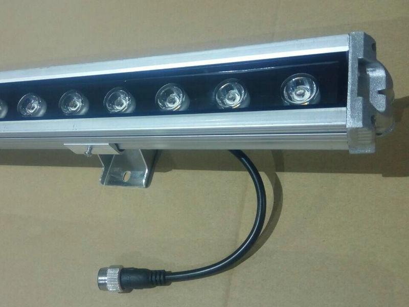led大功率洗墙灯 七彩洗墙灯 高亮足瓦LED洗墙灯 18w防水洗墙灯示例图7