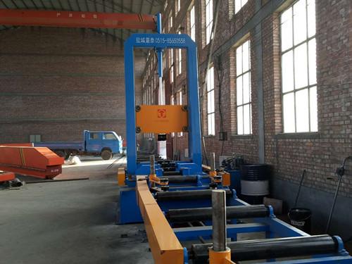 组立机组立的钢结构是什么效果|江苏盐城钢结构设备厂家组立机示例图3