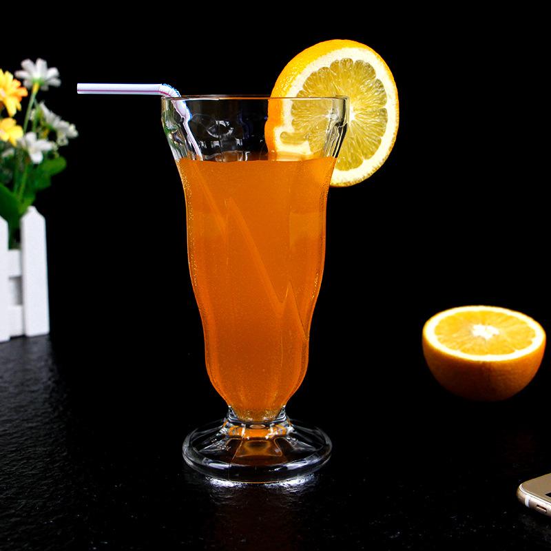 塑料果汁杯饮料杯厂家定制PC高透明塑料杯耐高温耐摔食品级塑胶杯示例图9