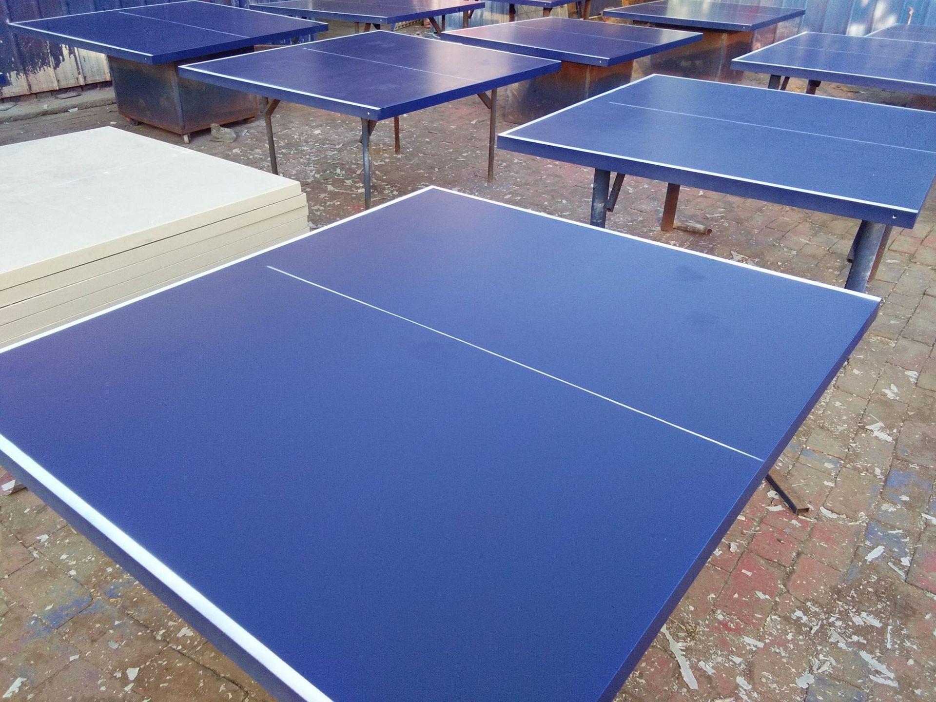 特价供应室内可移动乒乓球桌 家用标准乒乓球台 物美价廉售后无忧示例图28