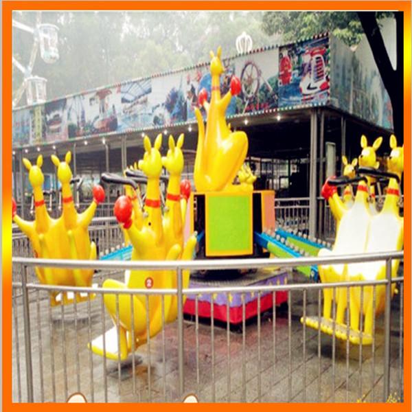 火爆销售8臂疯狂弹跳欢乐袋鼠 好玩刺激的儿童欢乐袋鼠袋鼠跳项目示例图6