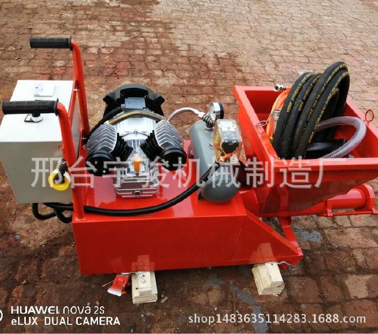 高壓防水涂料砂漿機聚氨酯噴涂機瀝青漆JS水泥基膩子粉噴涂機械