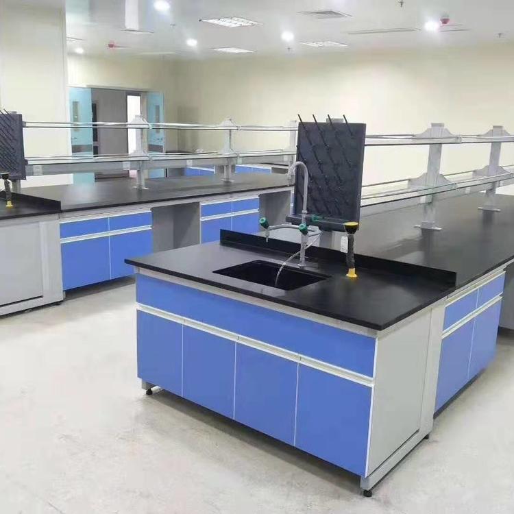 赛思斯 S-SG1遂宁市钢木实验台 转角台 学生操作台 教师讲台承重性能好非标定制供应商