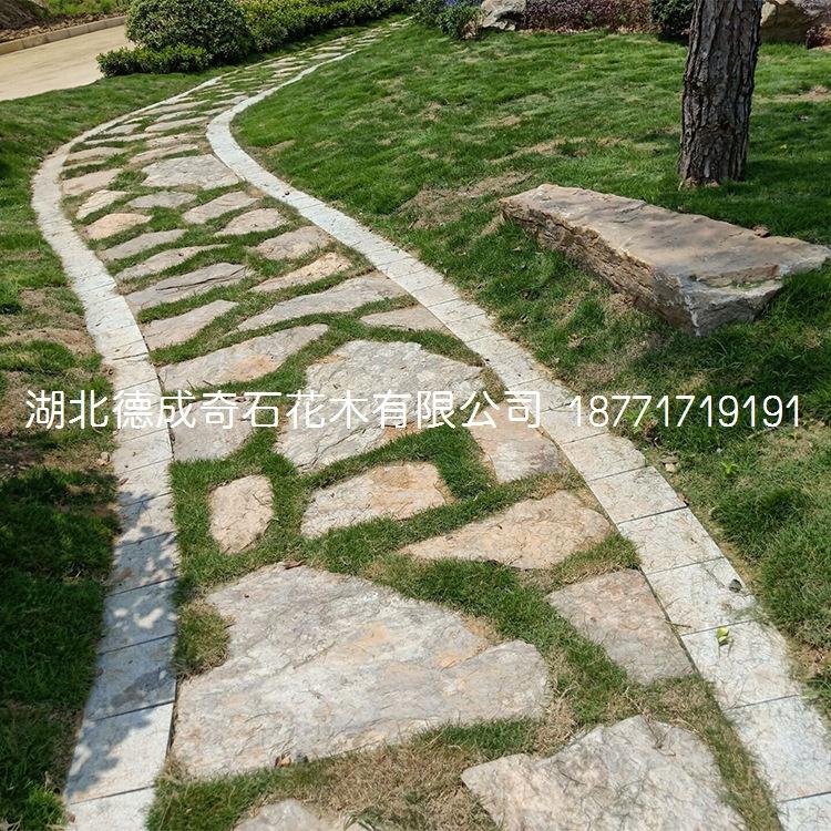 2018年汀步石景墙石批发庭院铺路石示例图17