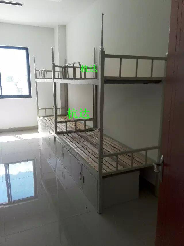 廠家供應學校宿舍雙層床定做鋼制部隊上下公寓床質保6年