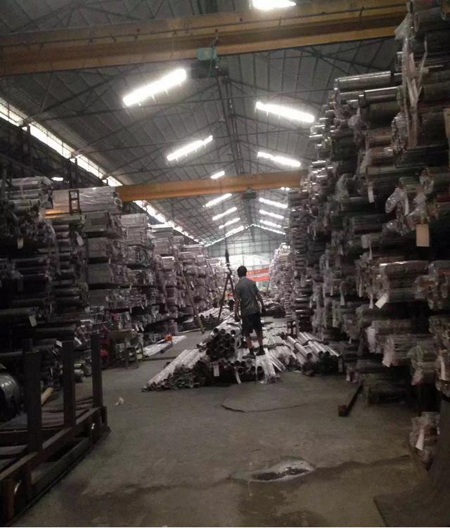 现货供应 不锈钢方管50*100*3.0拉丝方通 佛山厂家批发示例图13