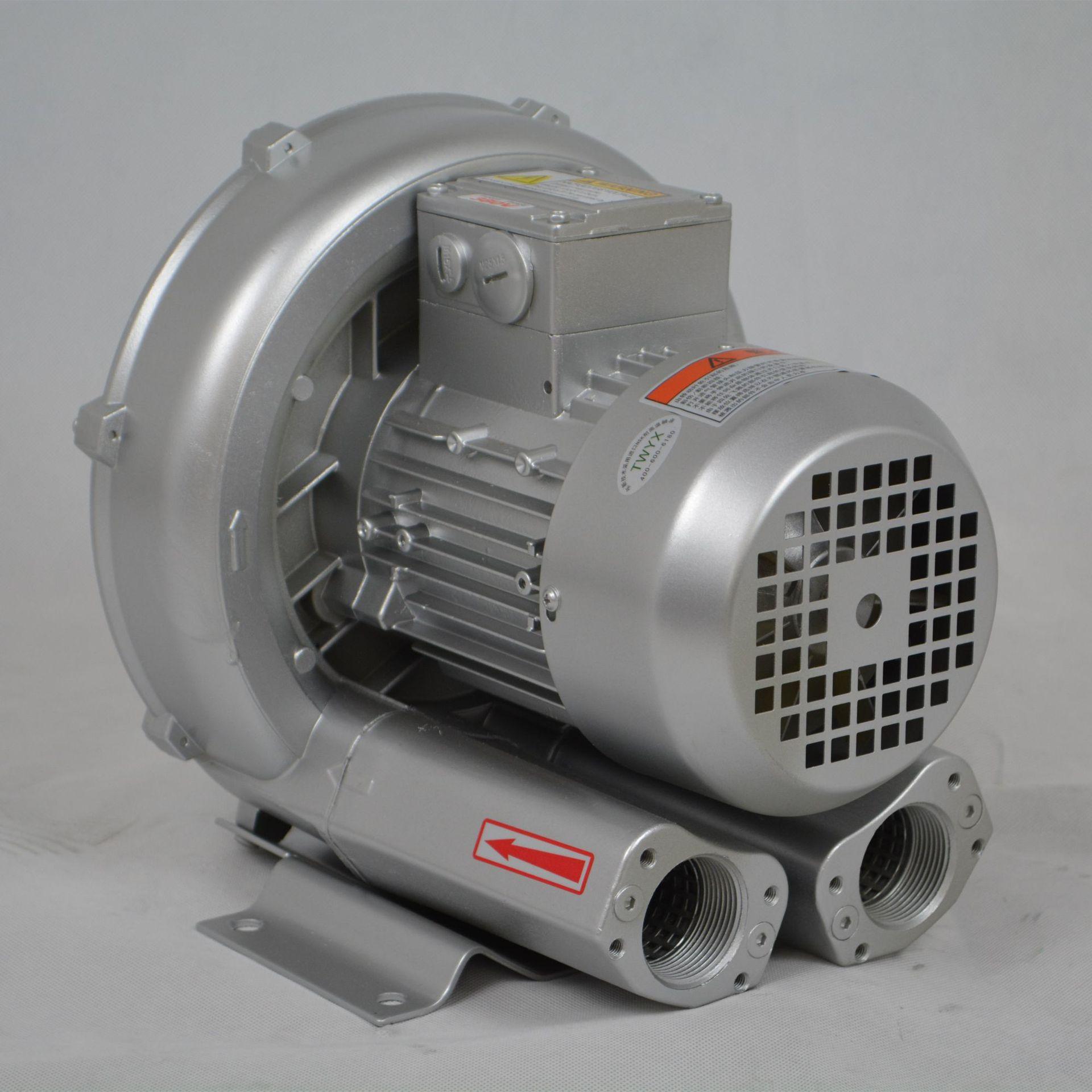 低噪音高壓風機 污水曝氣專用雙葉輪高壓風機 大風量高壓鼓風機示例圖7