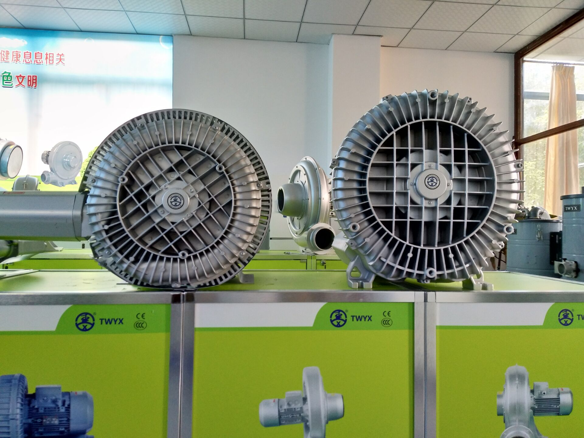 低噪音高壓風機 污水曝氣專用雙葉輪高壓風機 大風量高壓鼓風機示例圖22