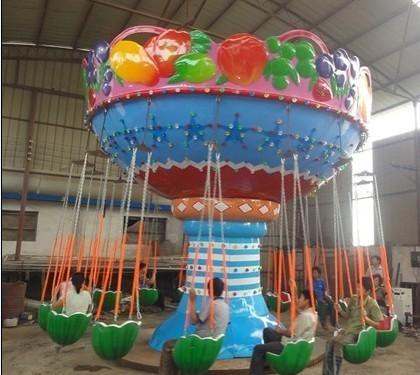 2020大洋飓风飞椅儿童游乐设备 公园旋转升降24座豪华飞椅游乐项目游艺设施厂家示例图19