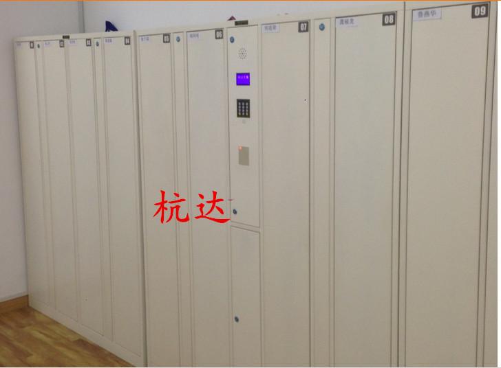 公司刷卡联网电子更衣柜杭州第九中学校联网书包柜储物柜示例图5