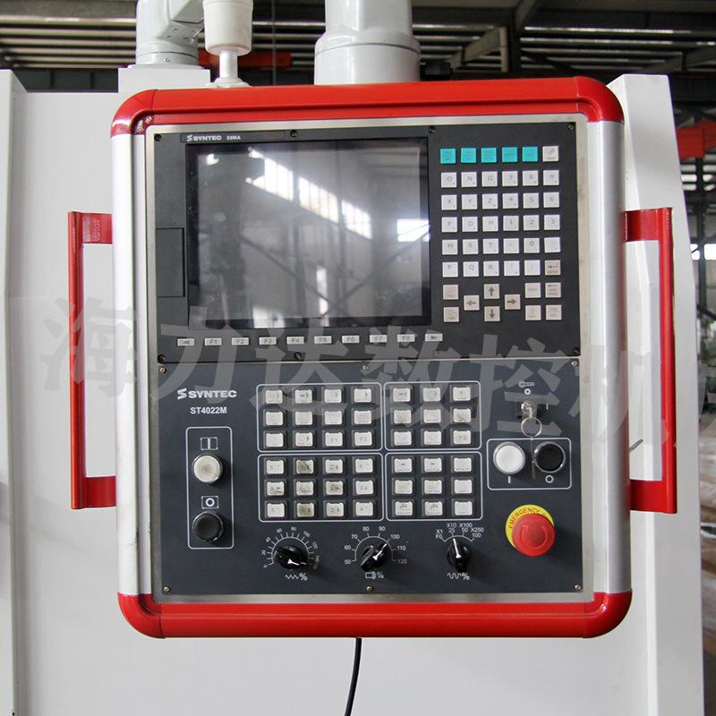 厂家直销数控钻铣中心山东海力达zxk-2010半防护钻铣床xyz大行程示例图14