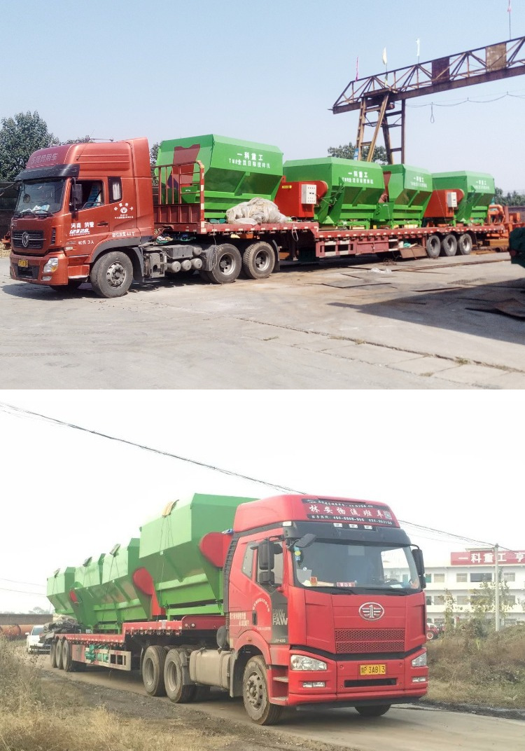 柴油动力撒料车 电动撒料车 养殖饲料撒料车 养殖机械设备撒料车示例图35