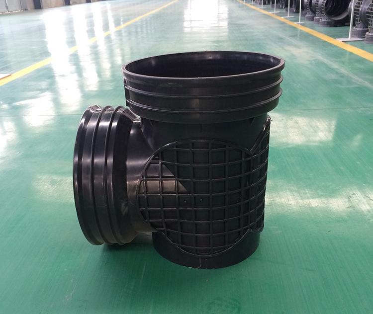 450*400流槽起始井 厂家直销|污水塑料检查井 批发示例图4