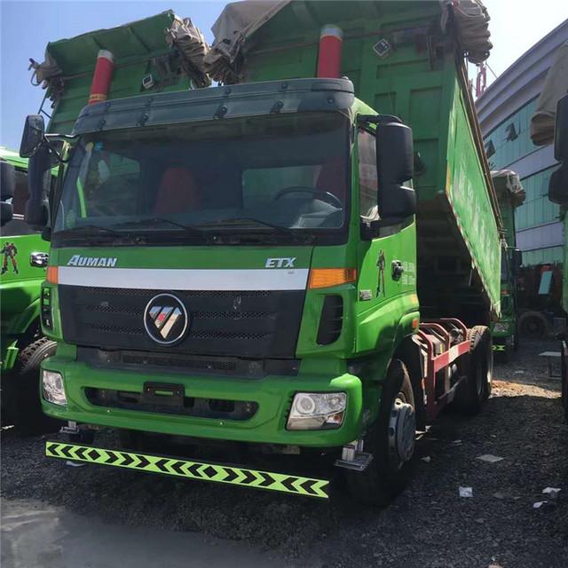 低價出售自卸車 15年自卸車 國五歐曼 環保新型渣土自卸車8米