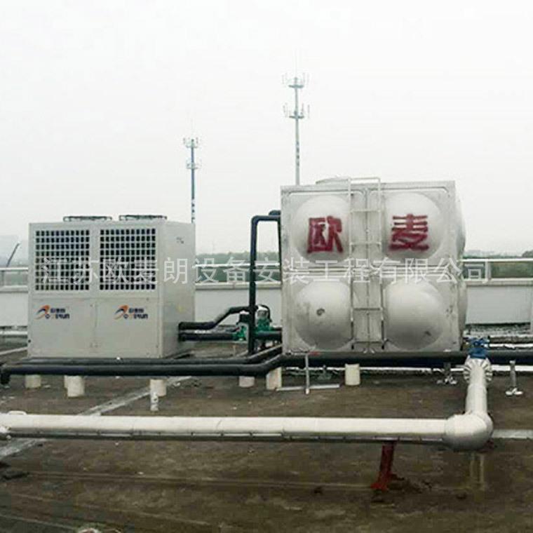 2空气能热泵机组15P上海空气能热水工程 12吨空气能热水系统示例图4