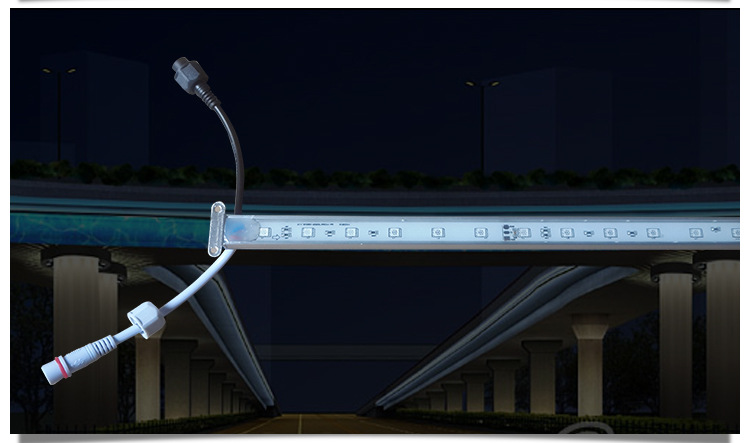 全彩线条灯七彩内控线条灯 家直销led线条灯示例图5