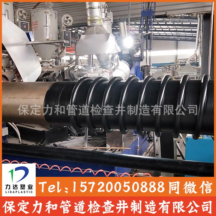 HDPE克拉管 聚乙烯缠绕结构壁管B型 100%全新料 源头厂家示例图8