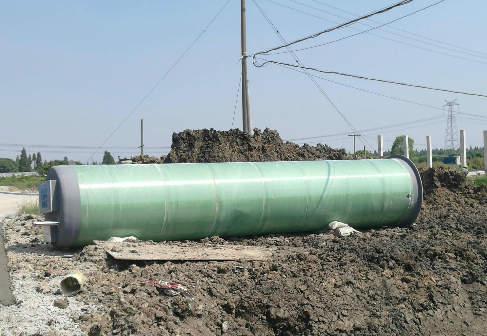 一體式預制泵站|玻璃鋼一體化泵站|污水處理成套設備廠家示例圖3