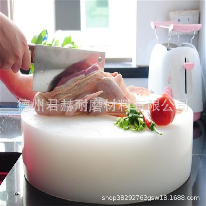 厨房案板垛肉板 无毒无味菜板不掉渣加厚菜墩 砧板可按尺寸定做示例图2