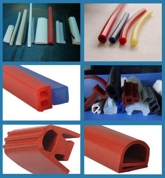 工业硅胶发泡异形条门窗机械耐高温密封条示例图1