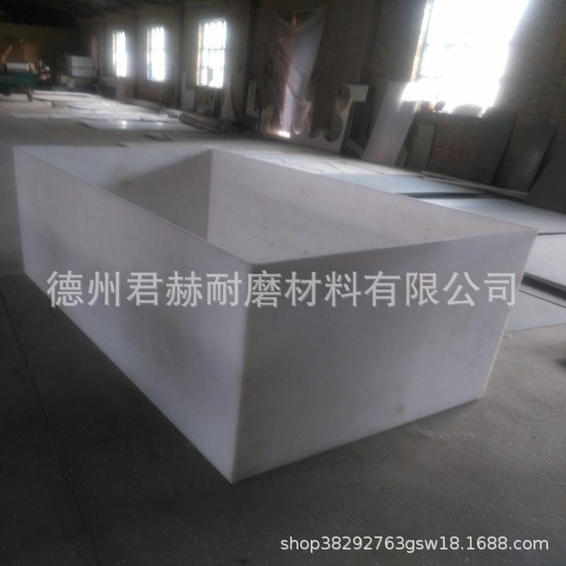 易焊接白色聚丙烯板 耐酸碱耐腐蚀pp PE板材 电镀槽定做水箱示例图11