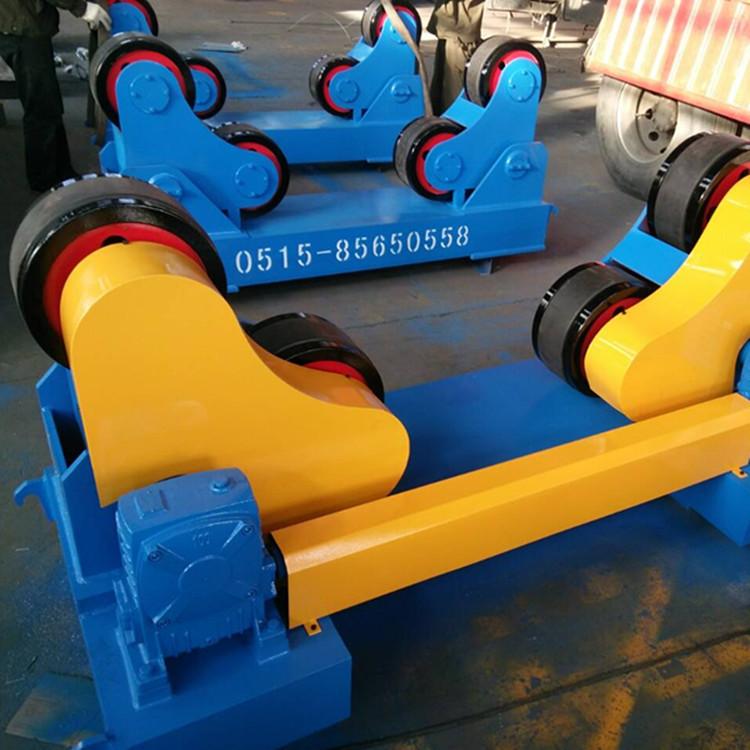 20吨自调焊接滚轮架  江苏厂家非标定制皇泰操作机 可调滚轮架示例图1