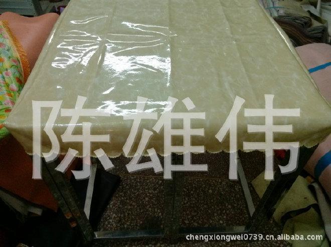 长期供应皮子桌罩 pvc皮子桌罩 防尘皮子桌罩示例图3