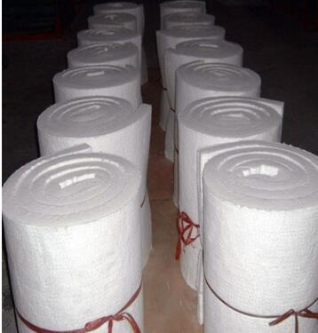 厂家供货防火耐高温硅酸铝纤维毯 陶瓷纤维毯 硅酸铝针刺毯示例图9