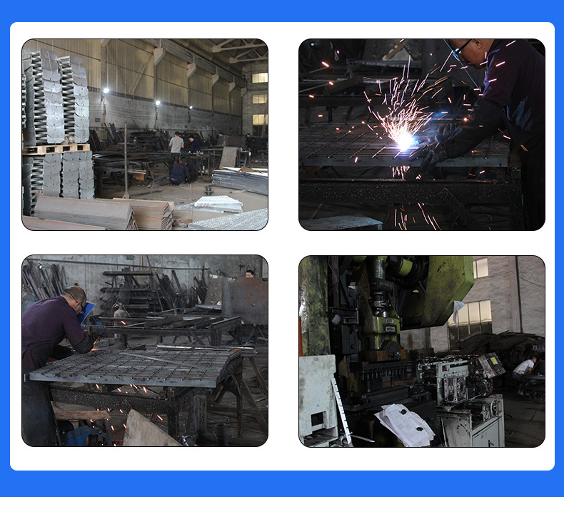 廠家供應熱鍍鋅格柵板 電廠鋼格柵板 鍍鋅水溝蓋板踏步板 可定制示例圖19