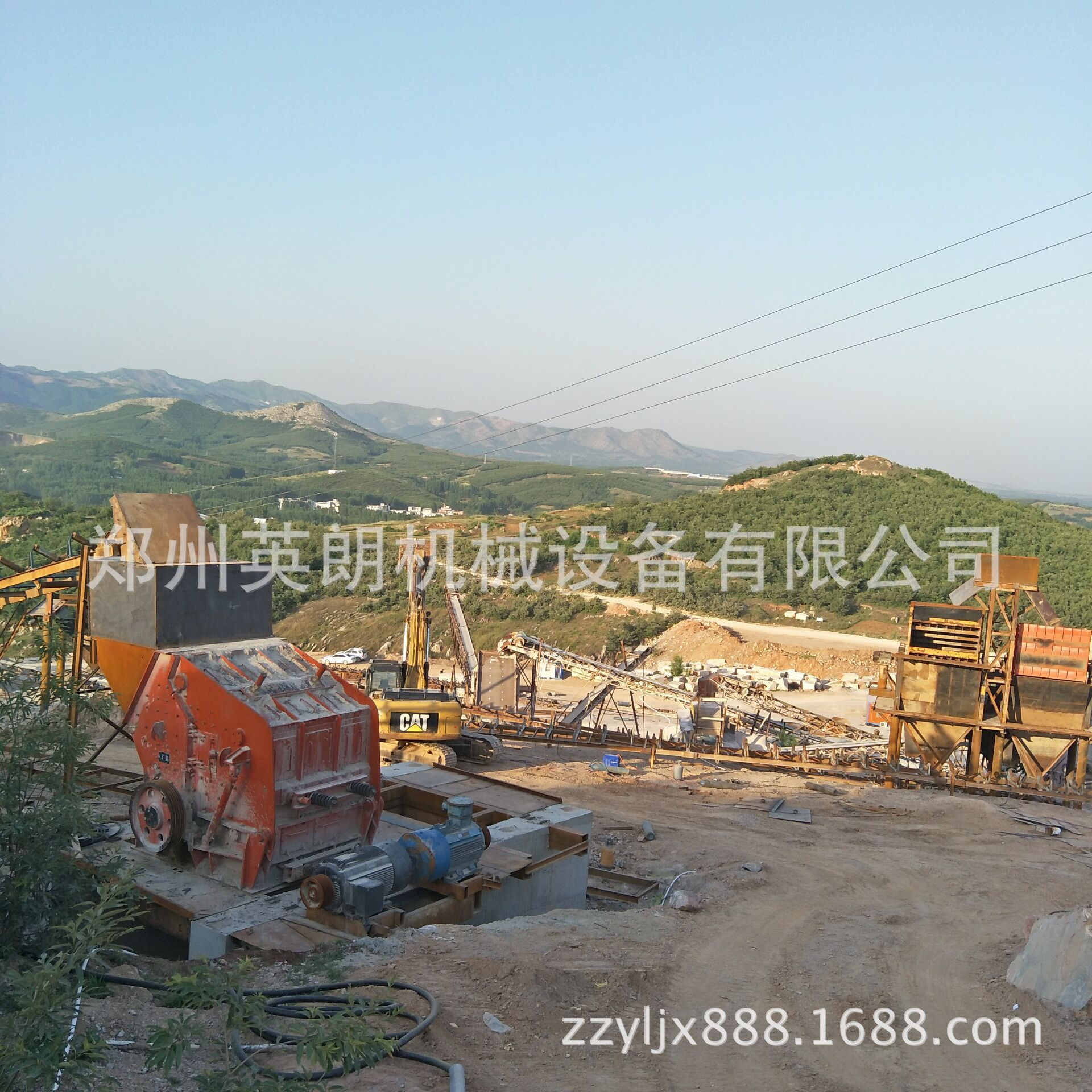 石料生产线全套设备配置 砂石石料生产线 大型石头破碎生产线示例图5