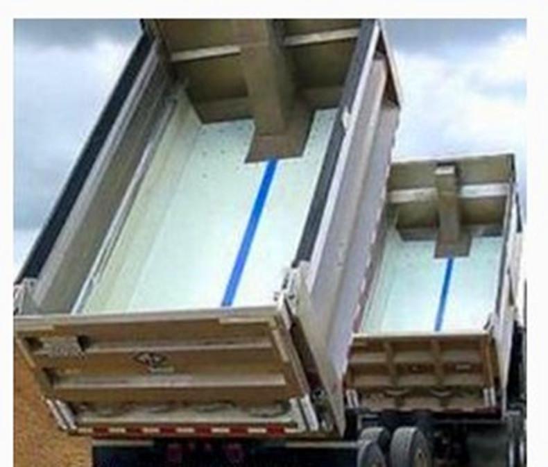 自卸车车厢滑板 工程车专业滑板 pe聚乙烯车厢滑板示例图13