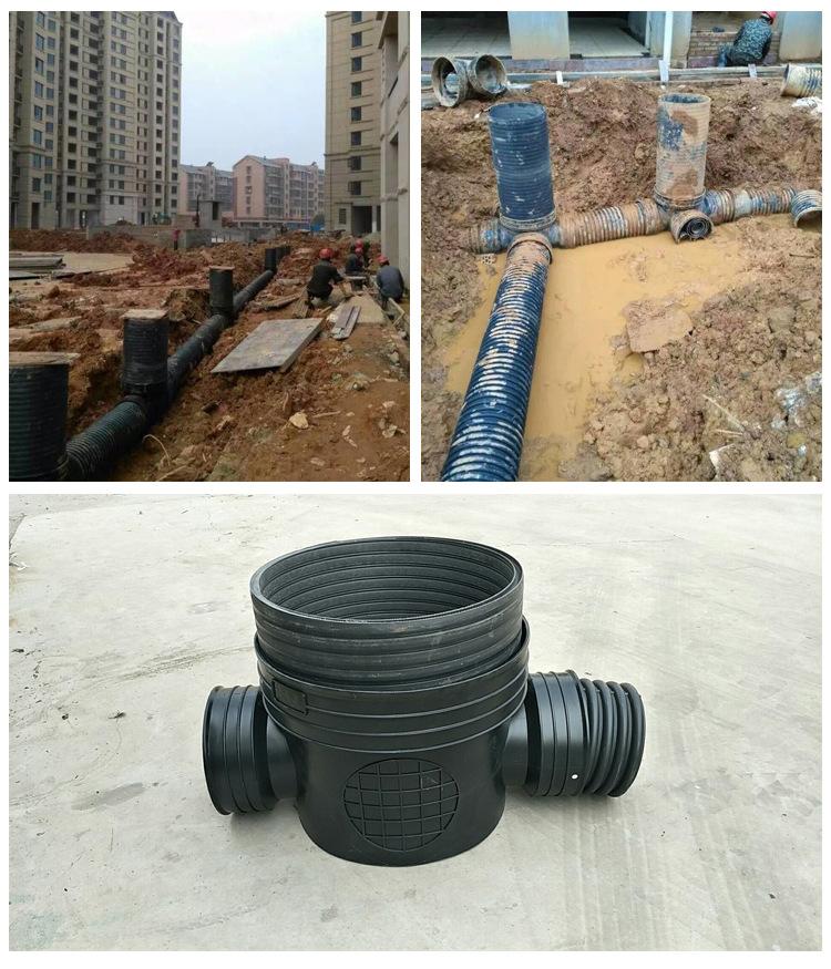 450*400流槽起始井 厂家直销|污水塑料检查井 批发示例图15