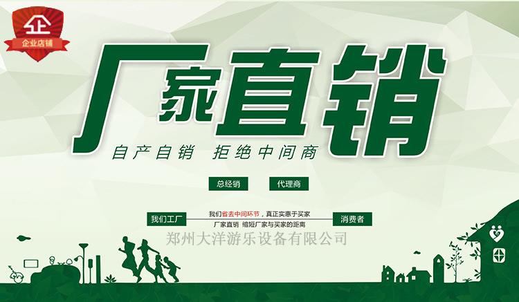 郑州大洋专业生产滑行龙 儿童游乐设备 大型户外游乐滑行龙厂家示例图5