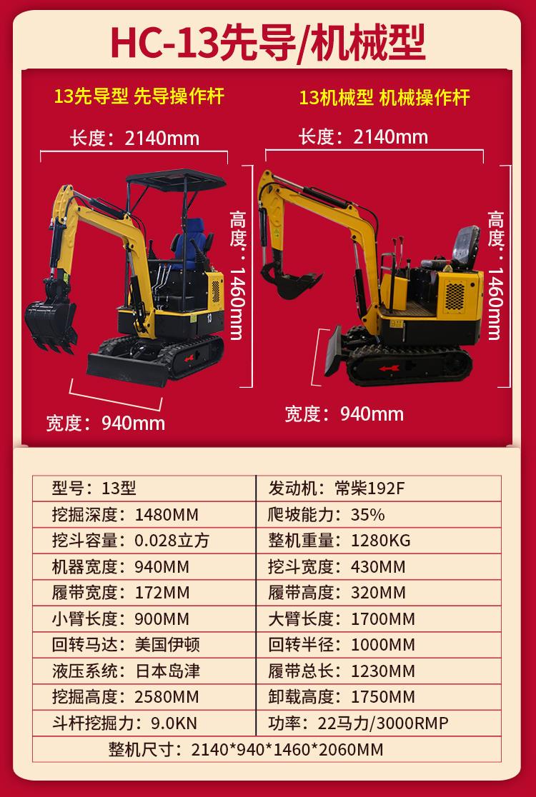 3万小型挖掘机 迷你微型挖掘机价格 小挖掘机 果园种植 洋马小型挖掘机价格示例图16
