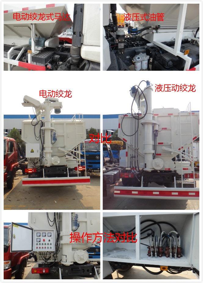 15吨陕汽饲料车配置价格 厂家直销示例图8