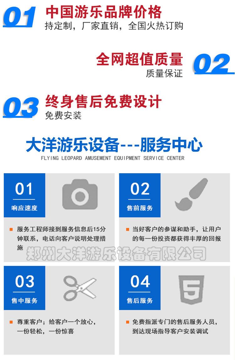 郑州大洋专业生产逍遥水母游乐设备 公园精品游乐8臂旋转逍遥水母示例图31