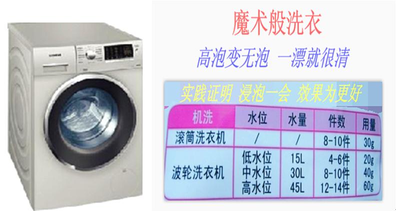 原装老外洗衣液 2kg装 一种柔软低泡洗衣液示例图6