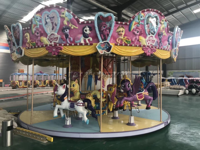 2020大洋新款卡通动画造型无轨大象观光火车 儿童乐园大象观光小火车示例图22