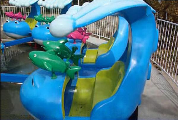 大洋水上游乐儿童激战鲨鱼岛给你不一样的娱乐体验 8臂激战鲨鱼岛项目示例图13